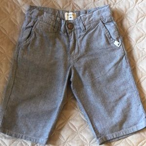 Chambray tapered fit quiksilver shorts